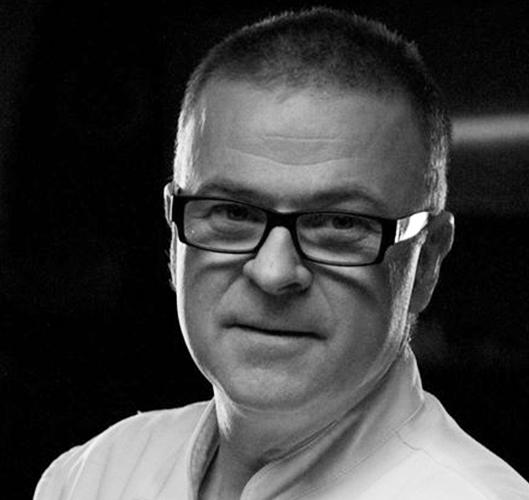 Bogdan Gałązka, restaurator z Malborka, uczestnik debaty podczas targów gastronomicznych EuroGastro