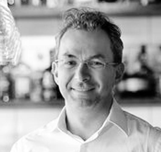 Daniel Pawełek, współwłaściciel Brasserie Warszawska, uczestnik debaty podczas targów gastronomicznych EuroGastro