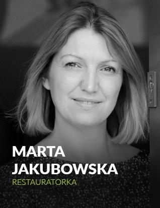 Marta Jakubowska, ekspert, restaurator