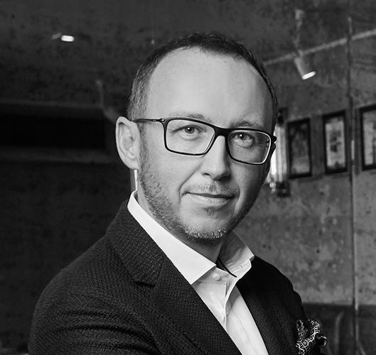 Piotr Popiński - restaurator, uczestnik debaty podczas targów EuroGastro