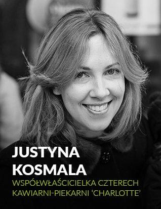 Justyna Kosmala współwłaścicielka Charlotte - kawiarnie-piekarnie