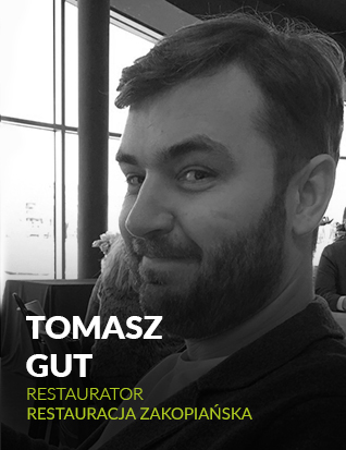Tomasz Gut, restaurator, Restauracja Zakopiańska