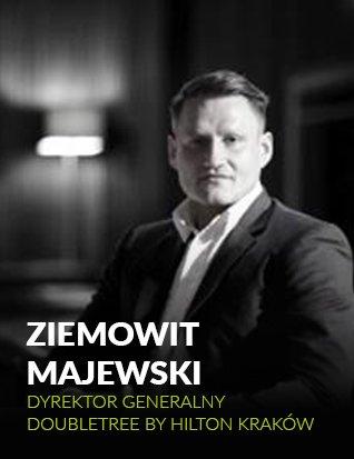 Ziemowit Majewski, dyrektor generalny Doubletree by Hilton Kraków