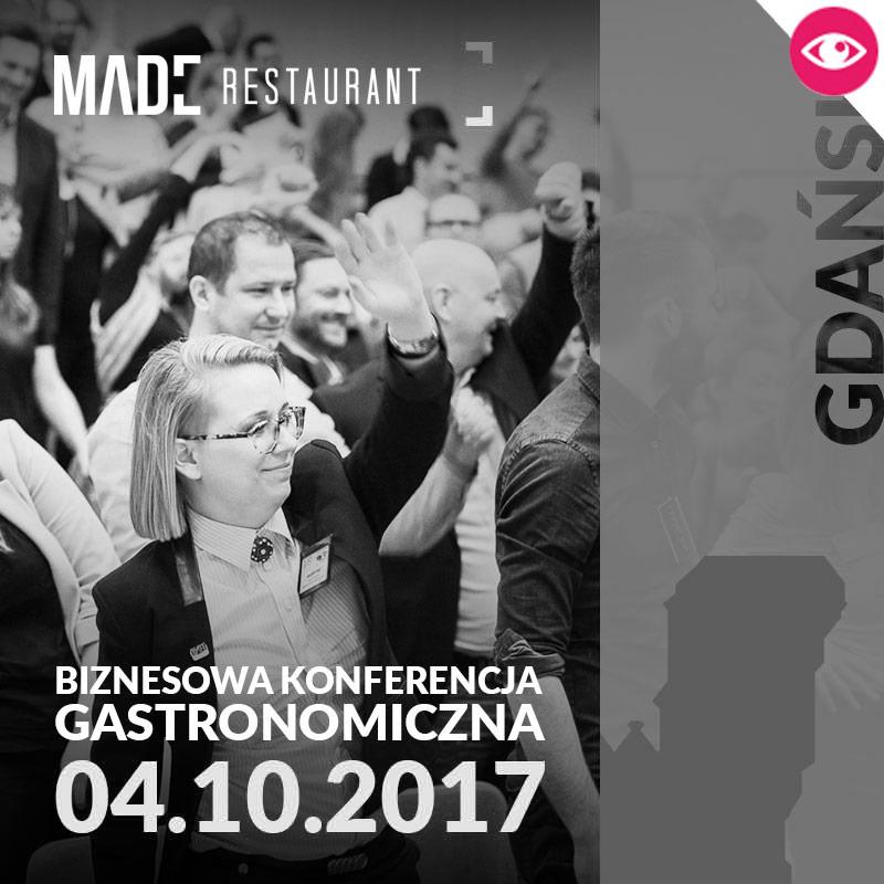 MADE Konferencja gastronomiczna - GDAŃSK