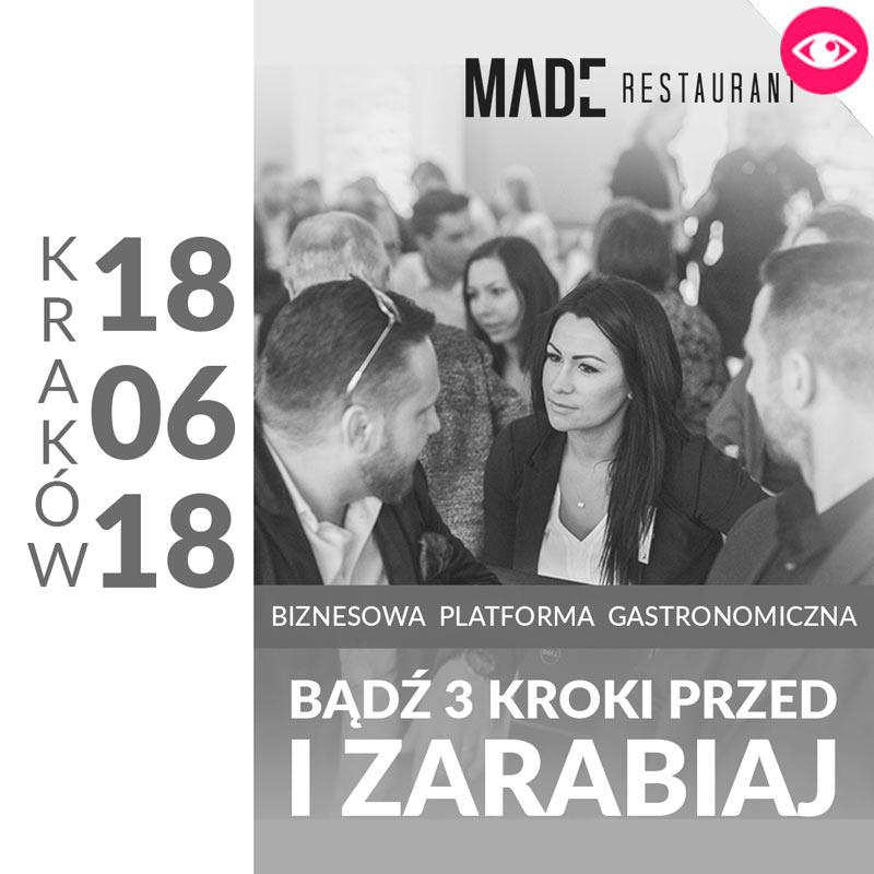 MADE Konferencja gastronomiczna - KRAKÓW 2018