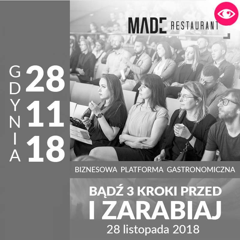 MADE Konferencja gastronomiczna - GDYNIA 2018
